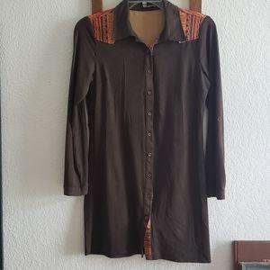 Langford Line Women's Suede Roja Shirt/Jacket